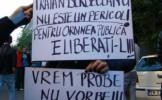 """""""Respect, Traian Berbeceanu"""", protest împotriva reţinerii comisarului şef, Traian Berbeceanu"""