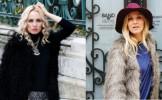 Stil de vedeta: Cum porti haina de blana - FOTO
