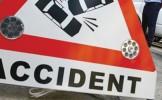 Accident circulatie la intersecţia podului Golescu
