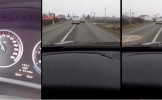 Polițist filmat în timp ce încalcă toate regulile de circulație!