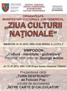 Ziua-Culturii-Naționale-la-Satu Mare