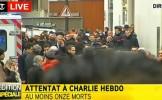 FOCURI DE ARMĂ la sediul unei publicaţii din Paris: 12 persoane au fost UCISE în atac - LIVE VIDEO