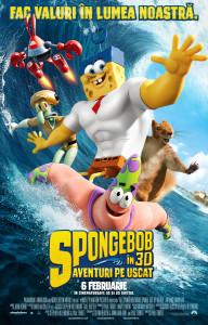 SpongeBob Aventuri pe uscat 3D cinema satu mare