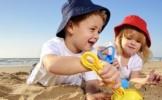 9 jocuri pentru copii la malul marii