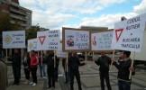 PROTEST PDL ÎMPOTRIVA NOULUI COD RUTIER (FOTO)
