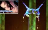 ACCIDENT MORTAL la Cirque du Soleil. O acrobată a murit după ce a căzut de la o înălţime de 15 metri...
