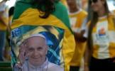 Papa Francisc a binecuvântat drapelul Ilimpiadei din 2016