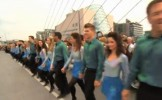 Record Riverdance la Dublin: Mii de persoane au dansat celebrul dans irlandez - VIDEO