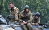 Tragedie pe platourile de filmare de la Fury, cel mai recent film al lui Brad Pitt: un cascador a fo...