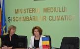Rovana Plumb a primit vizita comisarului european pentru Combaterea Schimbărilor Climaterice, Connie...