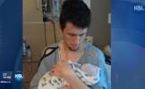 Medicii nu au nicio EXPLICAŢIE! Ce s-a întâmplat după ce un tată şi-a ţinut fiul nou-născut în braţe...