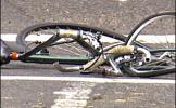 Biciclist, accidentat uşor