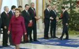 Cremonie de învestire la Palatul Controceni. Guvernul Ponta 4 a depus jurământul
