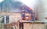 Incendiu provocat de un scurtcircuit la Ardud