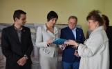 """Colegiul Național """"Doamna Stanca"""" s-a înfrățit cu Școala din Veleatino (Ucraina)"""