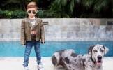 Cel mai fashion barbat din lume are doar... 5 ani! - FOTO