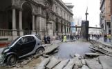 Locuitorii din Milano, STUPEFIAŢI: Vezi momentul INCREDIBIL în care un submarin iese din pământ, în ...