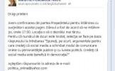 Băsescu se întâlneşte cu fanii săi de pe Facebook
