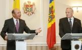 Mesajul lui Băsescu în Moldova: Sper să fiţi mai pregătiţi ca noi pentru parcursul integrării în UE...