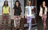 Moda 2013: Cum asortezi pantalonii cu imprimeu! - FOTO