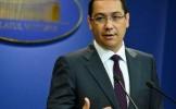 Ponta: Băsescu este la fel de jos şi de josnic ca extremistul maghiar Gabor Vona. Scandalul e AUR...
